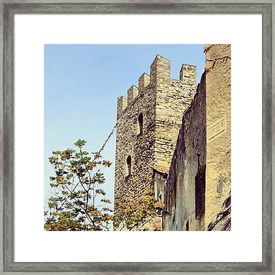Castel Juval - Alto Adige Framed Print