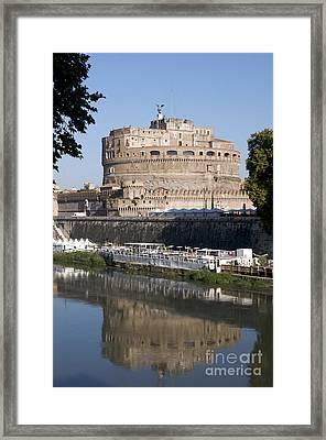 Castel Sant'angelo Castle. Rome Framed Print