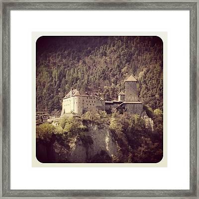 Castel Tirolo Framed Print