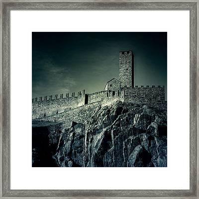 Castelgrande Bellinzona Framed Print by Joana Kruse