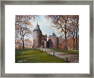 Castell Coch Framed Print by Andrew Read
