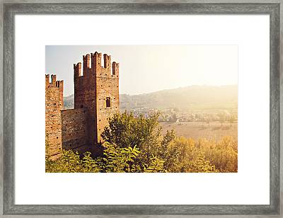 Castell'arquato Framed Print by Just a click