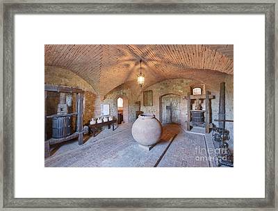 Castello Banfi Museum Framed Print by Rob Tilley
