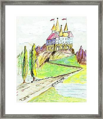 Castile Castle Framed Print