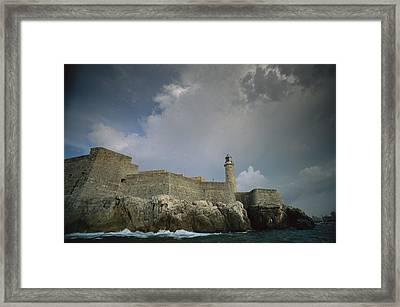 Castillo De Los Tres Reyes Del Morro Framed Print by Ira Block