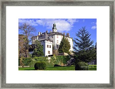 Castle Ambras In Innsbruck Framed Print