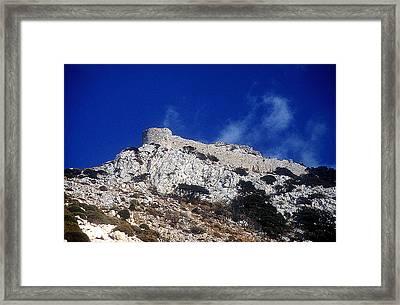 Castle Apalirou Framed Print by Andonis Katanos