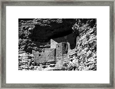 Castle At Montezuma Framed Print