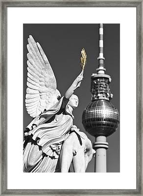 Castle Bridge Berlin Framed Print by Marcus Klepper
