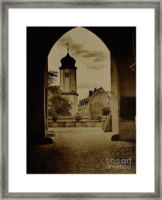 Castle Gate Framed Print