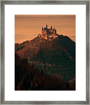 Castle Hohenzollern Framed Print by 900