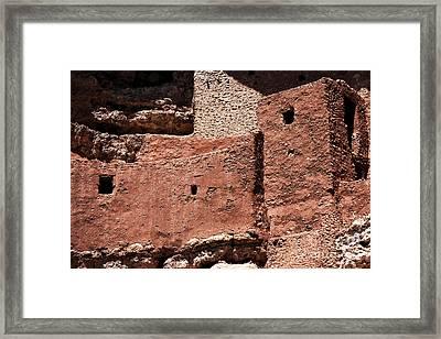 Castle In The Rocks Framed Print by John Rizzuto