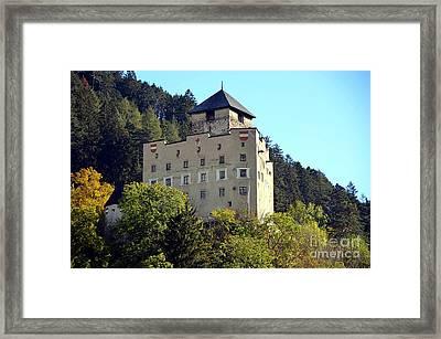 Castle Landeck In Austria Framed Print