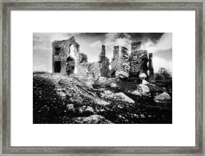 Castle Lyons Framed Print by Simon Marsden