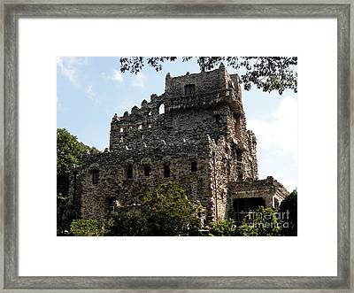 Castle On The Connecticut River Framed Print by Meandering Photography