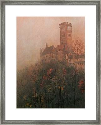 Castle On The Hill Framed Print