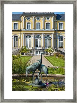 Castle Poppelsdorf Framed Print by Design Windmill