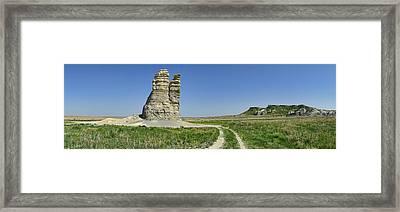 Castle Rock Framed Print by Alan Hutchins