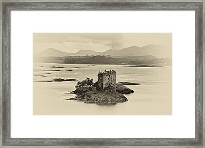 Castle Stalker Framed Print by Chris Thaxter