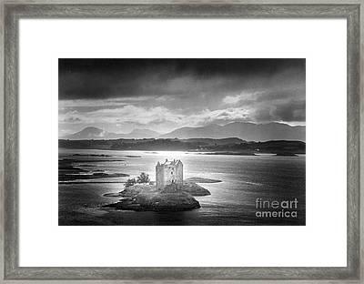 Castle Stalker Framed Print by Simon Marsden