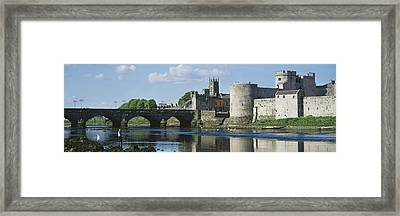 Castles, St Johns Castle, Co Limerick Framed Print by The Irish Image Collection