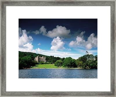 Castlewellan Castle & Lake, Co Down Framed Print by The Irish Image Collection