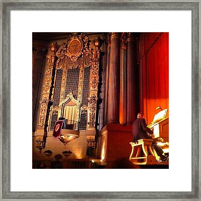 Castro Theater Framed Print by Ken SF