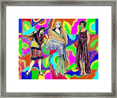 Casual And Formal Framed Print by Mel Thompson