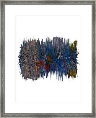 Cat Hair Ball Framed Print by Robert Margetts