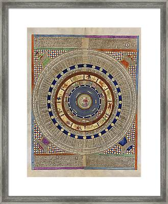 Catalan Atlas, 14th Century Framed Print by Library Of Congress