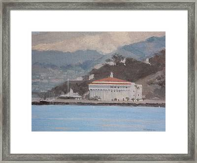 Catalina  Morning Framed Print by Robert Rohrich