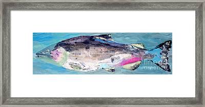 Catch 5 Framed Print by Lisa Baack