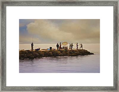 Catch Of The Day Framed Print by Robert Smith