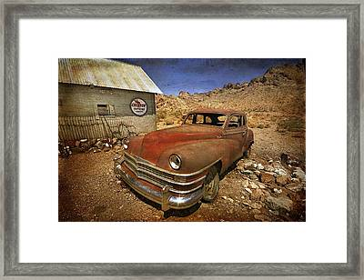 Catching Some Rays Framed Print by Christine Annas