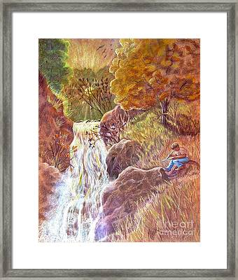 Catching The Last Light Framed Print by Marilyn Smith