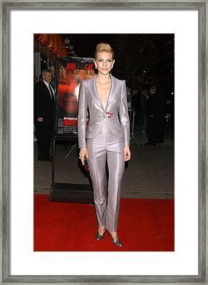 Cate Blanchett At Arrivals For New York Framed Print by Everett