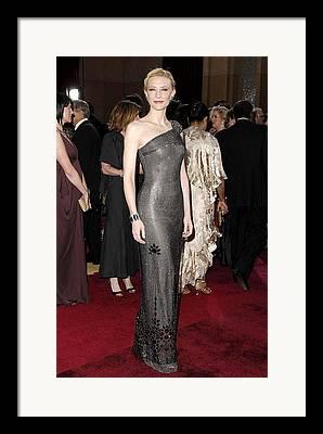 Oscars 79th Annual Academy Awards - Arrivals Framed Prints