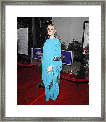 Cate Blanchett Wearing Missoni Framed Print by Everett