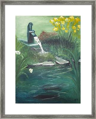 Catfish Framed Print by Angela Stout