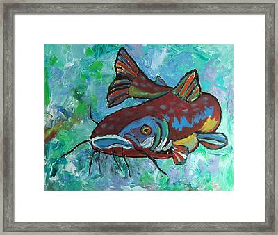 Catfish Framed Print