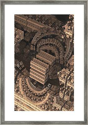 Cathedral 1 Detail Framed Print by Jacob Bettany