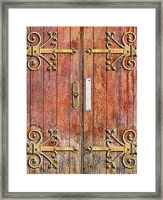 Cathedral Doors Framed Print by Paul Wear