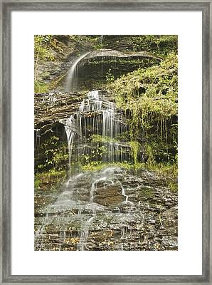 Cathedral Falls 3249 Framed Print by Michael Peychich