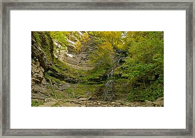 Cathedral Falls West Virginia Framed Print