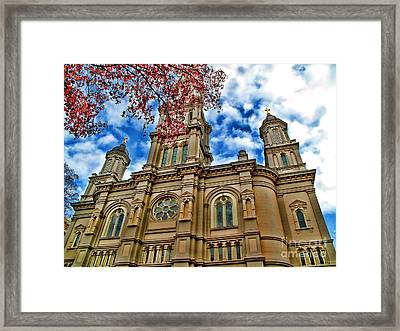 Cathedral Framed Print by Jason Abando