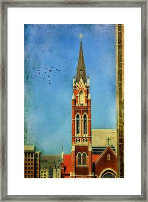 Framed Print featuring the photograph Cathedral by Joan Bertucci