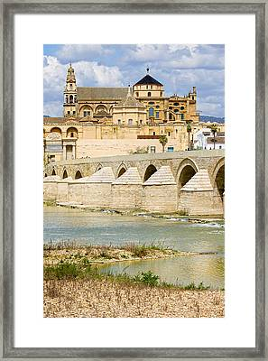 Cathedral Mosque In Cordoba Framed Print