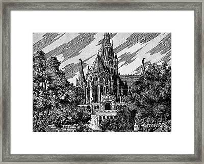 Cathedral Framed Print by Odon Czintos
