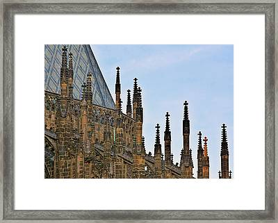 Cathedral Of Ss Vitus - Prague Castle Hradcany - Prague Framed Print