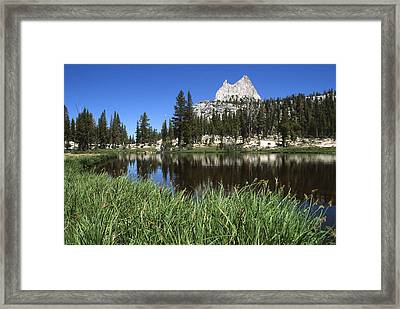 Cathedral Peak Framed Print